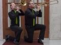 trombonesectie zittend