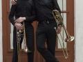 trombonesectie zwart