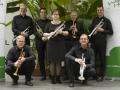 trompetsectie zwart